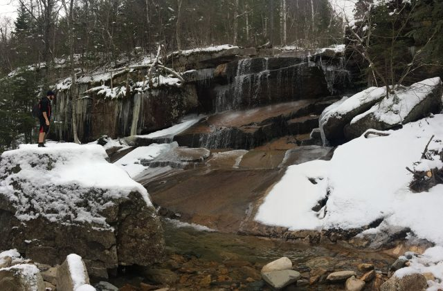 Champney Falls Trail in Eastern New Hampshire