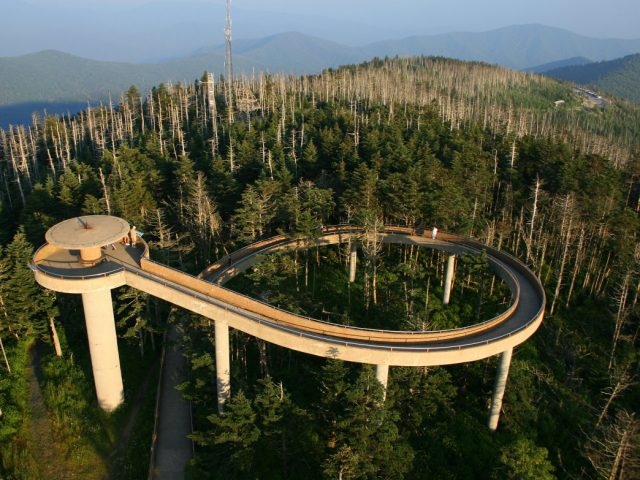 Clingmans Dome Trail in Western North Carolina