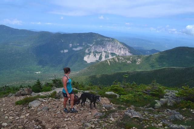 Franconia Notch Ridge Trail in Western New Hampshire