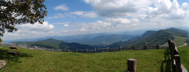 Hemphill Bald Trail in Western North Carolina