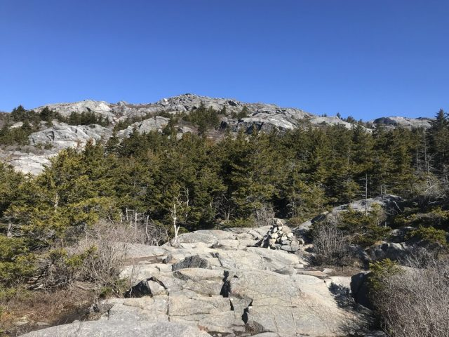 Metacomet-Monadnock Trail in Southern New Hampshire