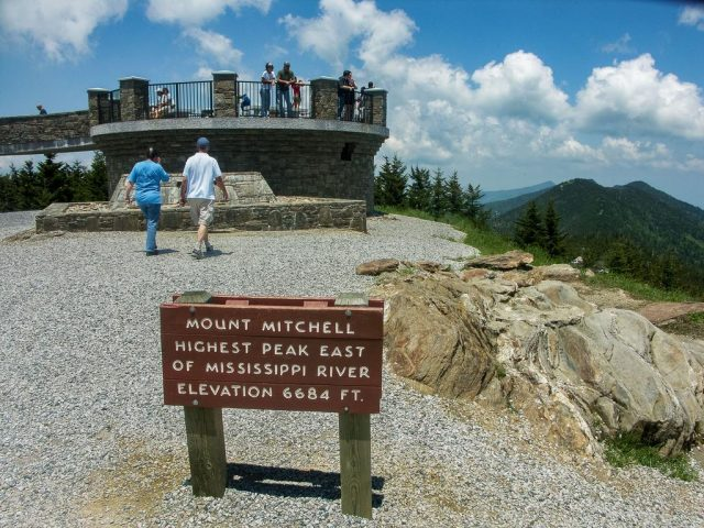 Mt. Mitchell State Park Trailsin Western North Carolina