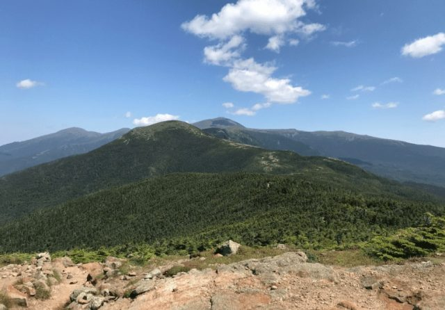 Presidential Traverse Trail in Northern New Hampshire