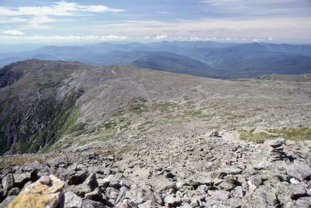 Tuckerman Ravine Trail in Northern New Hampshire