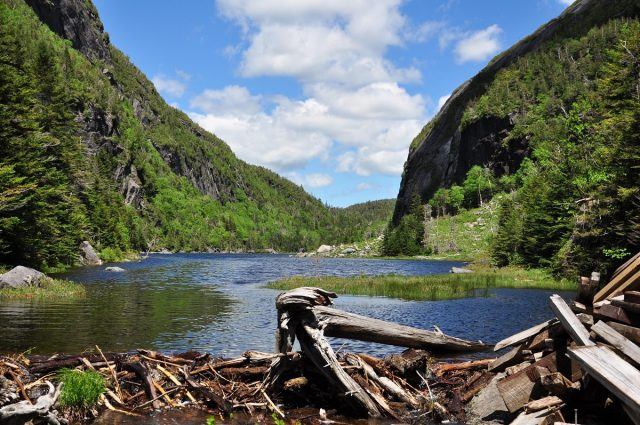 Avalanche Lake in New York