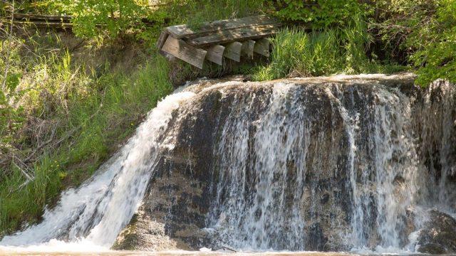 Berry Falls in Nebraska