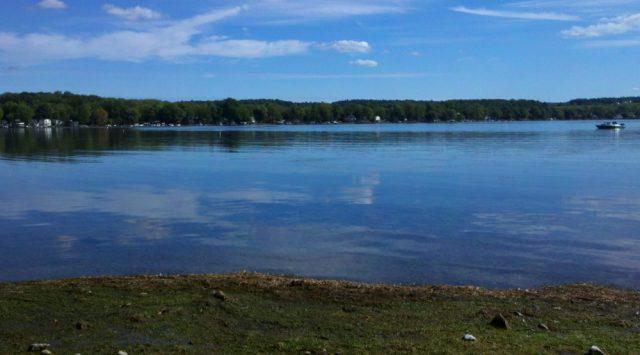 Conesus Lake in New York
