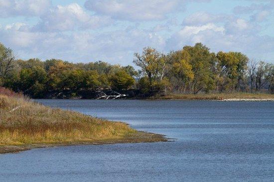 DeSoto Lake in Southern Iowa