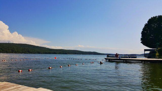 Greenwood Lake in New York