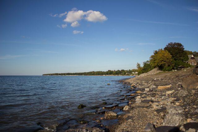 Lake Erie in New York