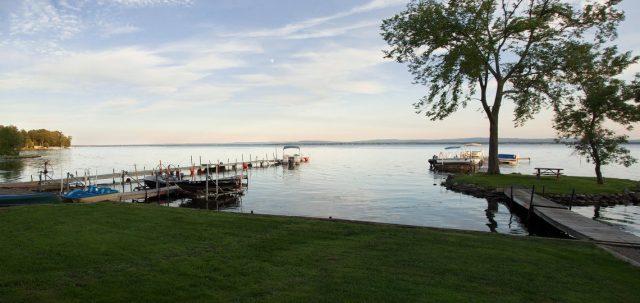 Oneida Lake in New York