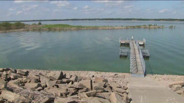 Rathbun Lake in Southern Iowa