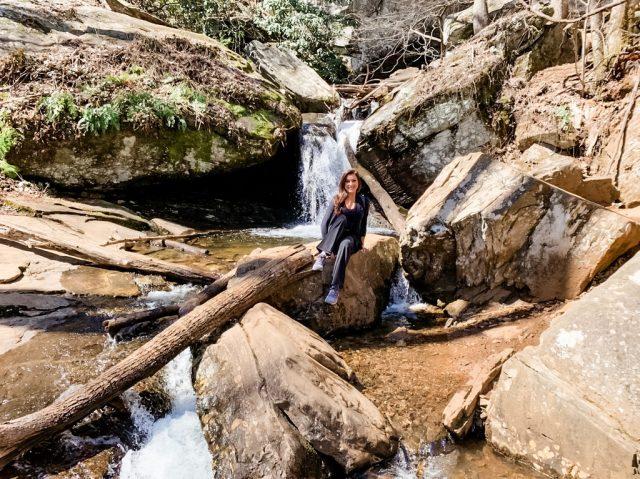 Raven Cliff Falls Trail in Northern Georgia