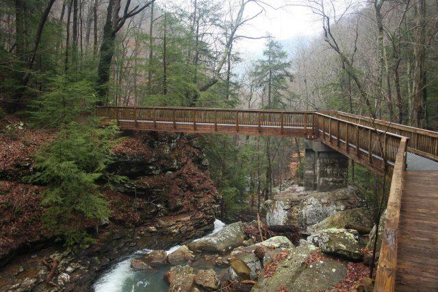 Sitton's Gulch Trail in Northern Georgia