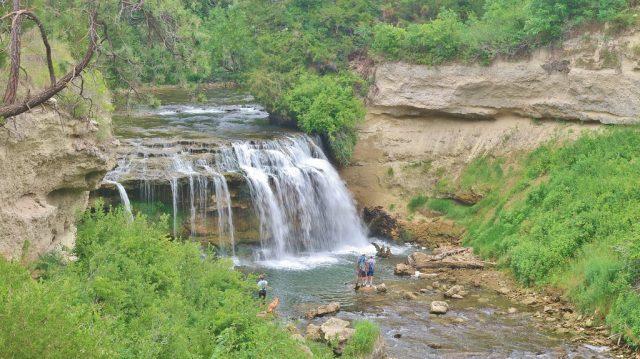 Snake River Falls in Nebraska