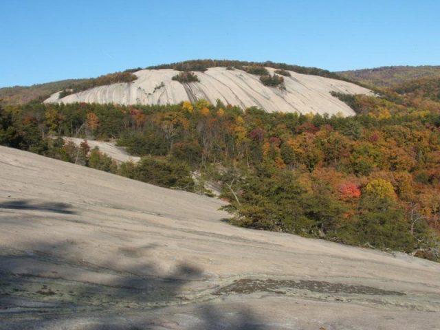 Stone Mountain Trail in Northern Georgia