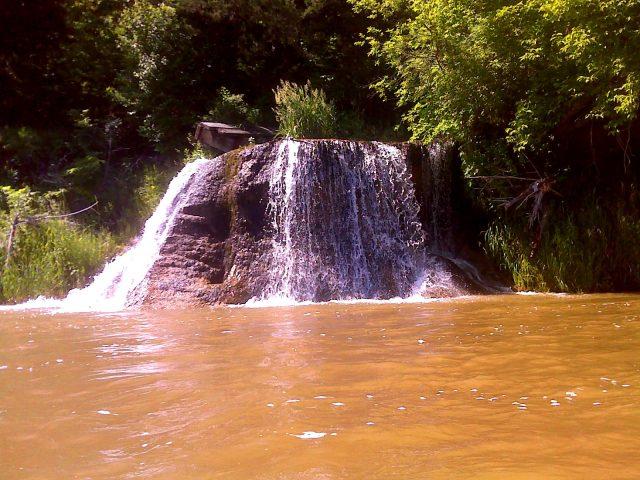 Tyler Falls in Nebraska