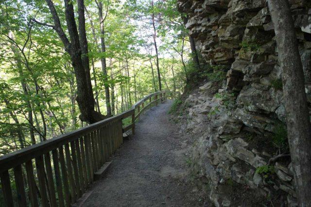 West Rim Loop Trail in Northern Georgia