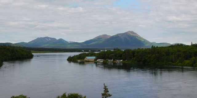 Aleknagik Lake in Alaska