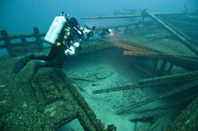 Alger Underwater Preserve in Upper Michigan