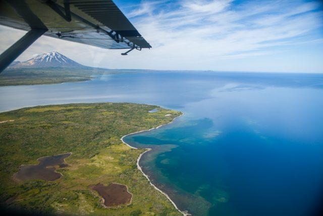 Becharof Lake in Alaska