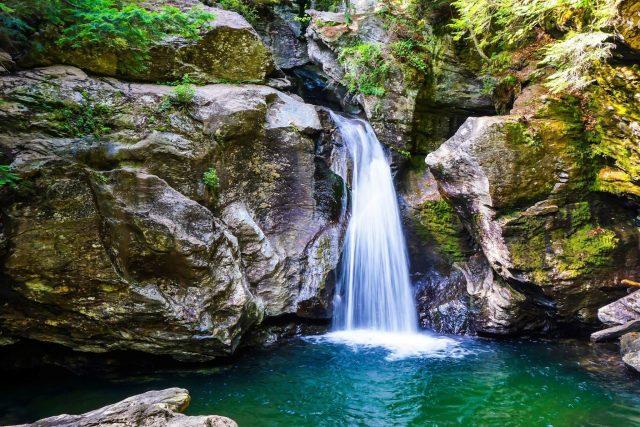 Bingham Falls in Northern Vermont