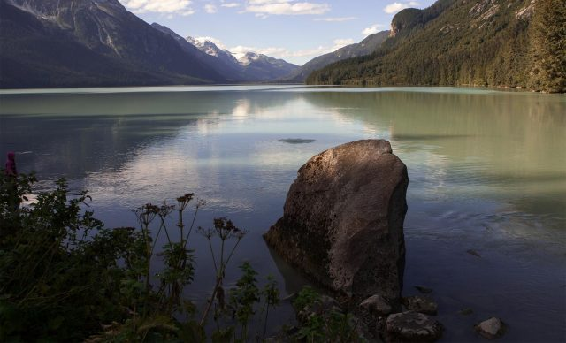 Chilkoot Lake in Alaska