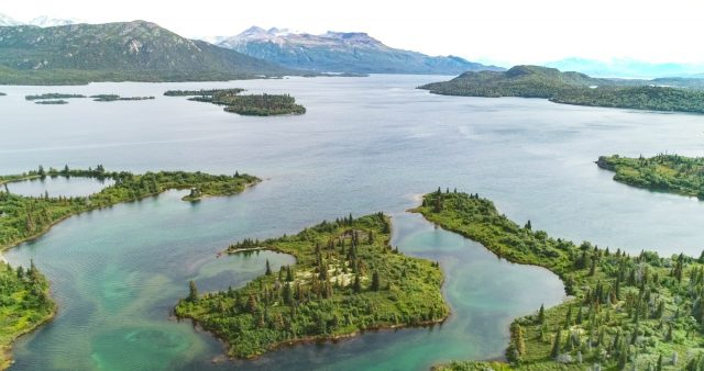 Iliamna Lake in Alaska