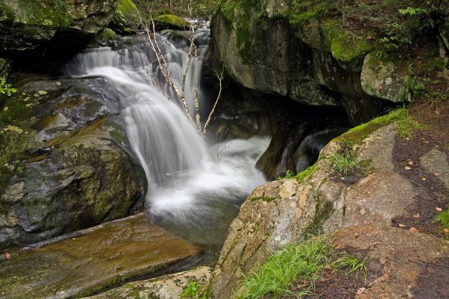 McLaughlin Falls in Western Vermont