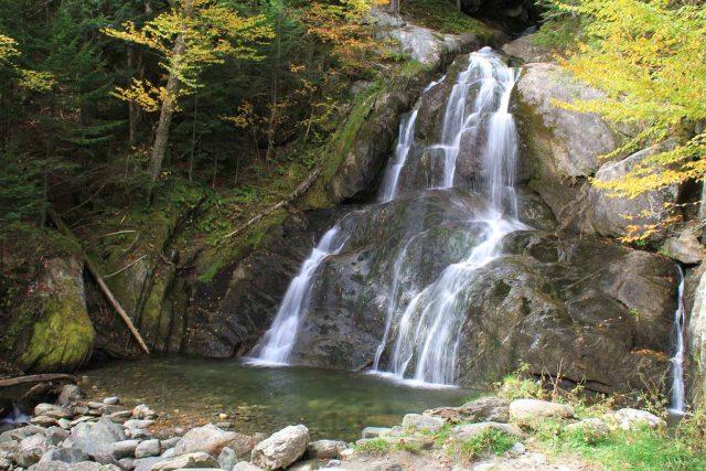 Moss Glen Falls in Western Vermont