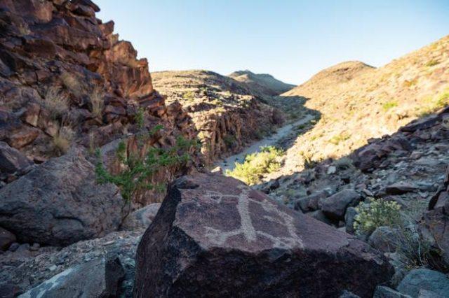 Petroglyph Canyon Trail Las Vegas