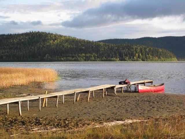 Quartz Lake in Alaska