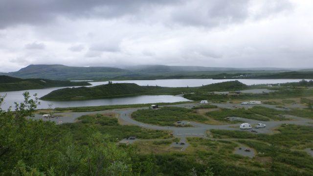 Tangle Lakes in Alaska