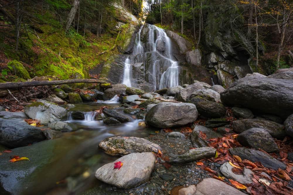 Waterfalls in Vermont